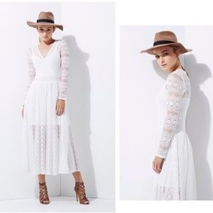 FRENCH CONNECTION Wings Lace Boho Dress 6